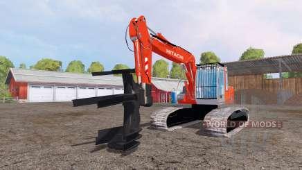 Hitachi ZX110 feller buncher для Farming Simulator 2015