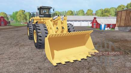 Caterpillar 994F v3.0 для Farming Simulator 2015