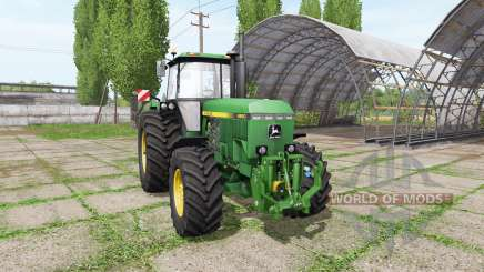 John Deere 4850 v3.0 для Farming Simulator 2017