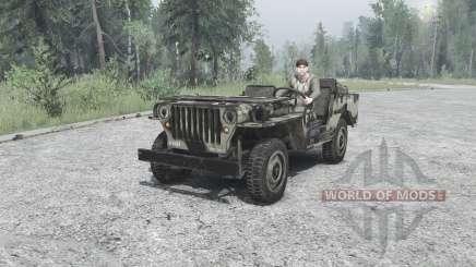 Willys MB 1942 для MudRunner