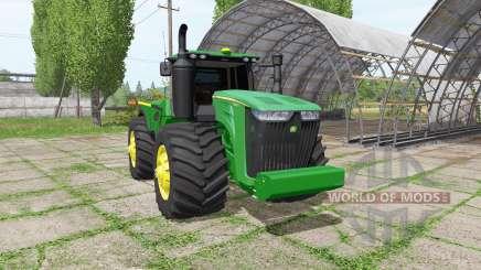 John Deere 9620R v1.1 для Farming Simulator 2017