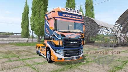 Scania R700 Evo TOPRUN для Farming Simulator 2017