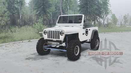Jeep Wrangler (TJ) 2001 для MudRunner