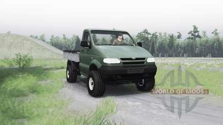 УАЗ 2365 для Spin Tires