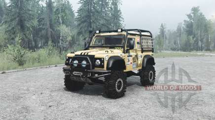 Land Rover Defender 90 off-road для MudRunner