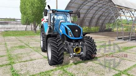 New Holland T7.290 v1.1 для Farming Simulator 2017