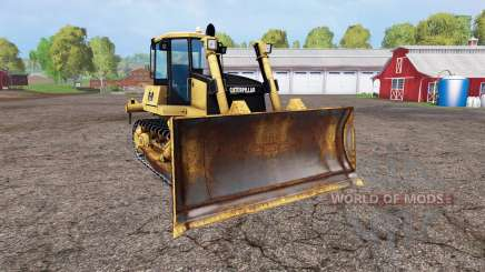 Caterpillar D9 для Farming Simulator 2015
