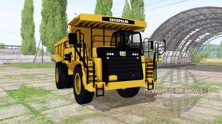 Caterpillar 773G v1.2 для Farming Simulator 2017