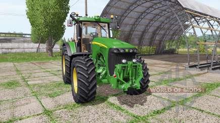 John Deere 8220 v4.0 для Farming Simulator 2017