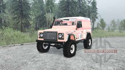 Land Rover Defender 90 Hard Top для MudRunner