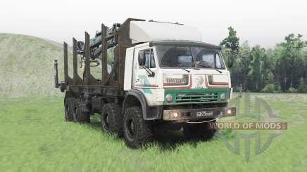 КамАЗ 63501 Мустанг для Spin Tires