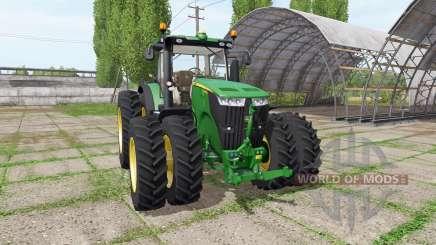 John Deere 7260R для Farming Simulator 2017