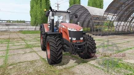 Massey Ferguson 8740 v3.9 для Farming Simulator 2017