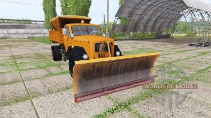 Magirus-Deutz 200 D 26 1964 schneepflug для Farming Simulator 2017