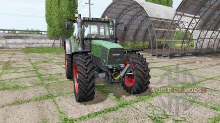 Fendt Favorit 916 для Farming Simulator 2017