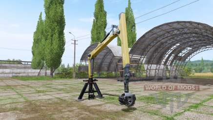 Palfinger Epsilon M80F v1.3 для Farming Simulator 2017