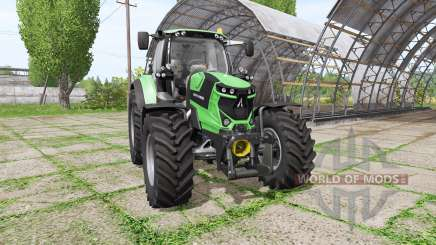 Deutz-Fahr Agrotron 6185 TTV для Farming Simulator 2017