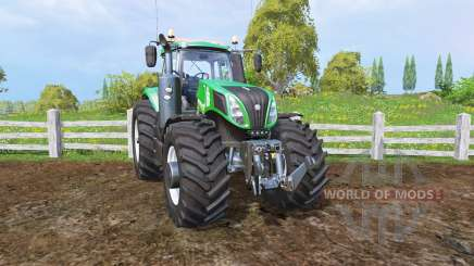 New Holland T8.320 green для Farming Simulator 2015