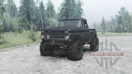 Chevrolet C10 для MudRunner