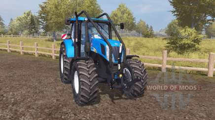 New Holland T7050 forest для Farming Simulator 2013