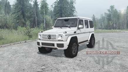 Mercedes-Benz G 65 AMG (W463) для MudRunner