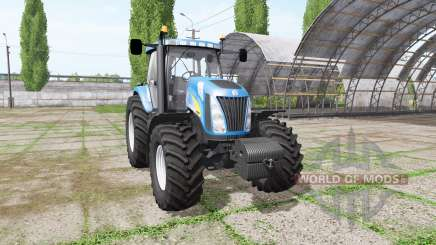 New Holland TG255 v4.0 для Farming Simulator 2017