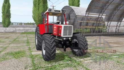 Steyr 8165A Turbo SK2 v2.0 для Farming Simulator 2017