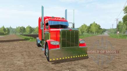 Peterbilt 389 v1.1 для Farming Simulator 2017