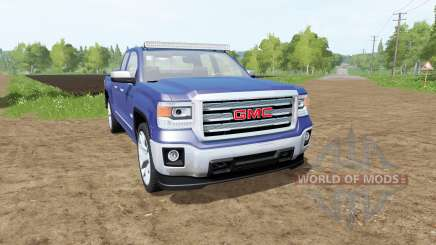 GMC Sierra 1500 Double Cab (GMTK2) для Farming Simulator 2017