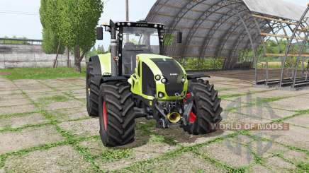 CLAAS Axion 920 v1.1 для Farming Simulator 2017