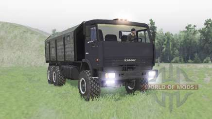 КАМАЗ 65111 для Spin Tires