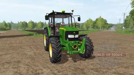 John Deere 5080M для Farming Simulator 2017
