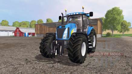 New Holland T8020 для Farming Simulator 2015