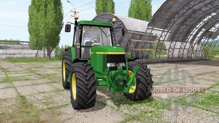 John Deere 6610 для Farming Simulator 2017