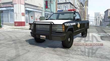 Gavril D-Series texas highway patrol для BeamNG Drive