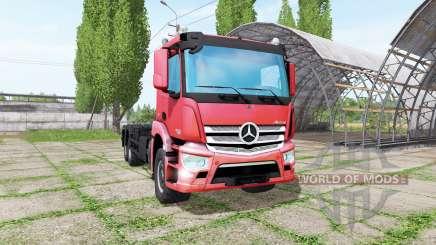 Mercedes-Benz Antos 2540 hooklift для Farming Simulator 2017