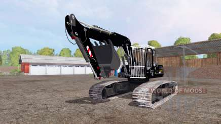 Liebherr A 900 C Litronic apache для Farming Simulator 2015