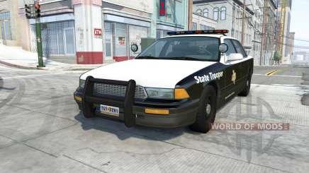 Gavril Grand Marshall texas highway patrol для BeamNG Drive