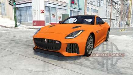 Jaguar F-Type SVR Coupe для BeamNG Drive