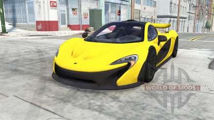 McLaren P1 для BeamNG Drive