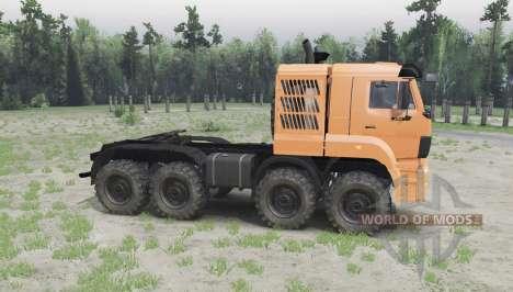 КАМАЗ 65228 для Spin Tires
