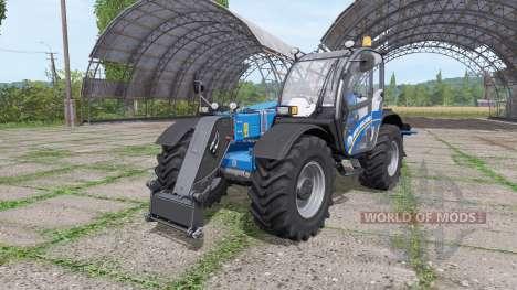 New Holland LM 7.42 back hydraulics для Farming Simulator 2017