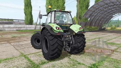 Deutz-Fahr Agrotron 7230 TTV dynamic hoses для Farming Simulator 2017