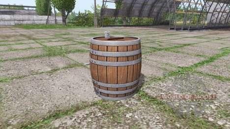 Barrel weight для Farming Simulator 2017