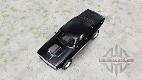 ГАЗ 24 Волга купе для Spin Tires