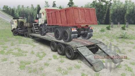 МАЗ 6317 v2.3 для Spin Tires