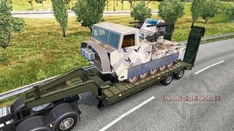 Military cargo pack v2.2.1 для Euro Truck Simulator 2