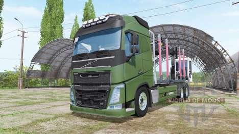 Volvo FH forest для Farming Simulator 2017