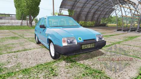 Skoda Favorit (Type 781) для Farming Simulator 2017