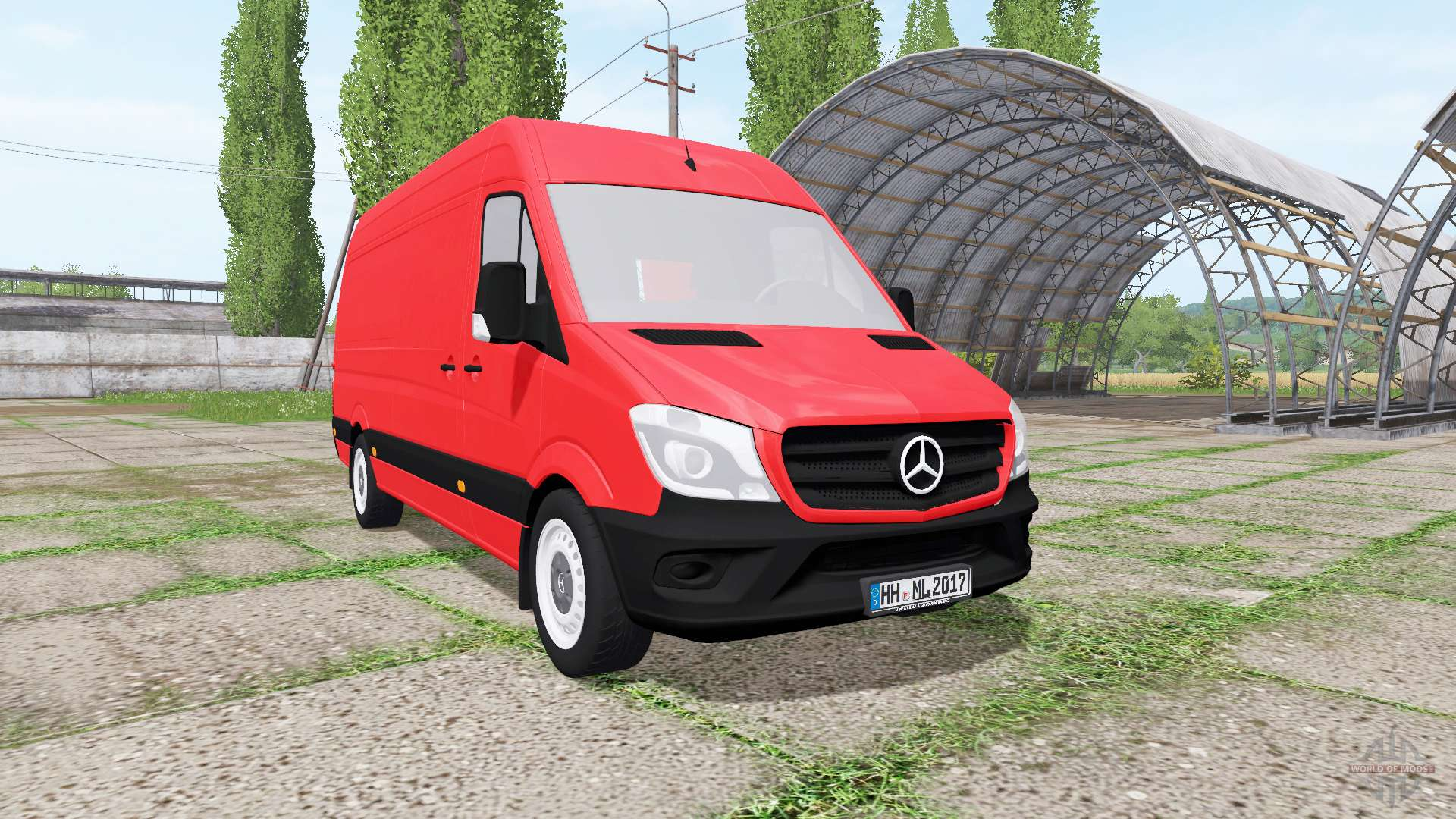 Mercedes benz sprinter 319 bluetec v1 1 for Mercedes benz sprinter bluetec